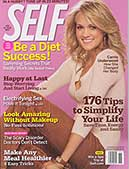 Self Magazine - Nov 2007 page 123 - recommends Phil Campbell's Sprint 8 cardio program tto women to burn fat and lose inches, and to lose weight on your lunch break